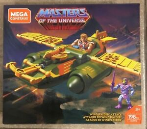 WIND-RAIDER-ATTACK-Mega-CONSTRUX-Bloks-HE-MAN-motu-set-megabloks-NEW-masters