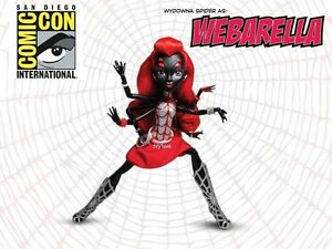 SDCC-Monster-High-Doll-WEBARELLA-EXCLUSIVE-Power-Ghouls-Spider-Girl-Comic-Con