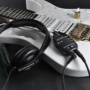 Top-Black-Guitar-to-USB-Interface-Link-Cable-Audio-Adapter-for-PC-MAC-Recording