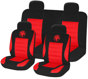 8pc-Universal-Car-Seat-Covers-Set-Protectors-Washable-Dog-Pet-Front-Rear-Red