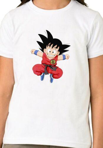 Japanese Anime Manga Dragon Ball Goku Unisex Boys Girls Kids Gift  T-shirt  817