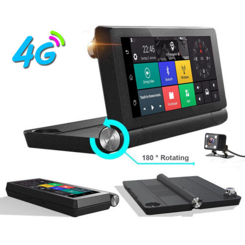 7 IPS 4G Dashboard center control Wifi Car DVR Camera Android system Dual Lens