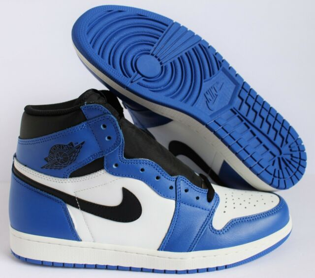 2018 Air Jordan Retro 1 High OG Game Royal Blue 555088 Size 12 for ... fab442103ee5