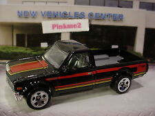 2016 Multi Pack Exclusive DATSUN 620 ✿New Black pickup truck∞LOOSE∞Hot wheels
