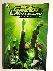 GREEN-LANTERN-Rebirth-2010-DC-Comics-TPB-VG