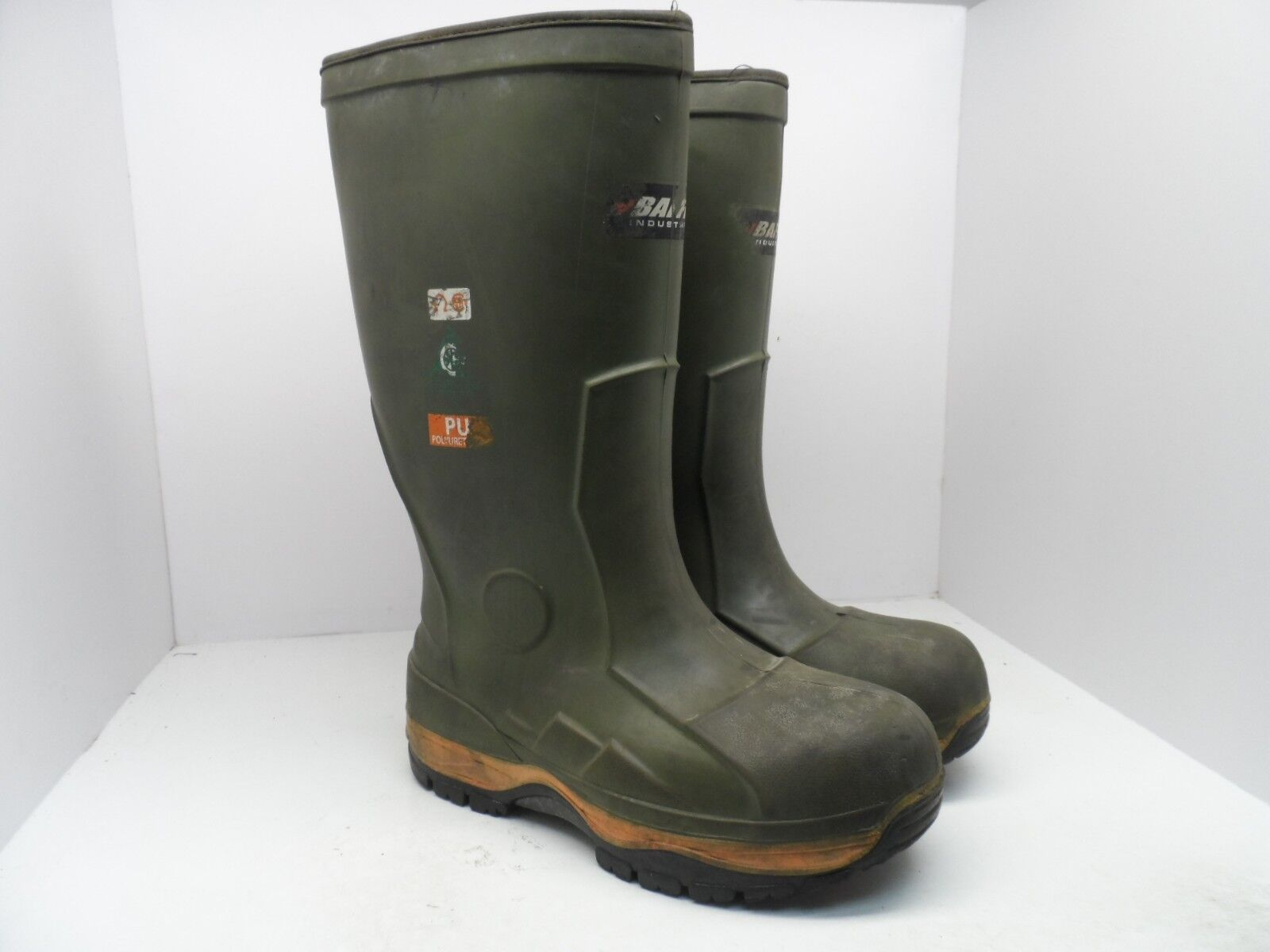 Baffin Men's Ice Bear Safety Toe Steel Plate Work Boots Green Size 10M