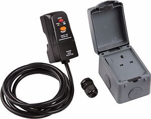 Outdoor rcd socket kit