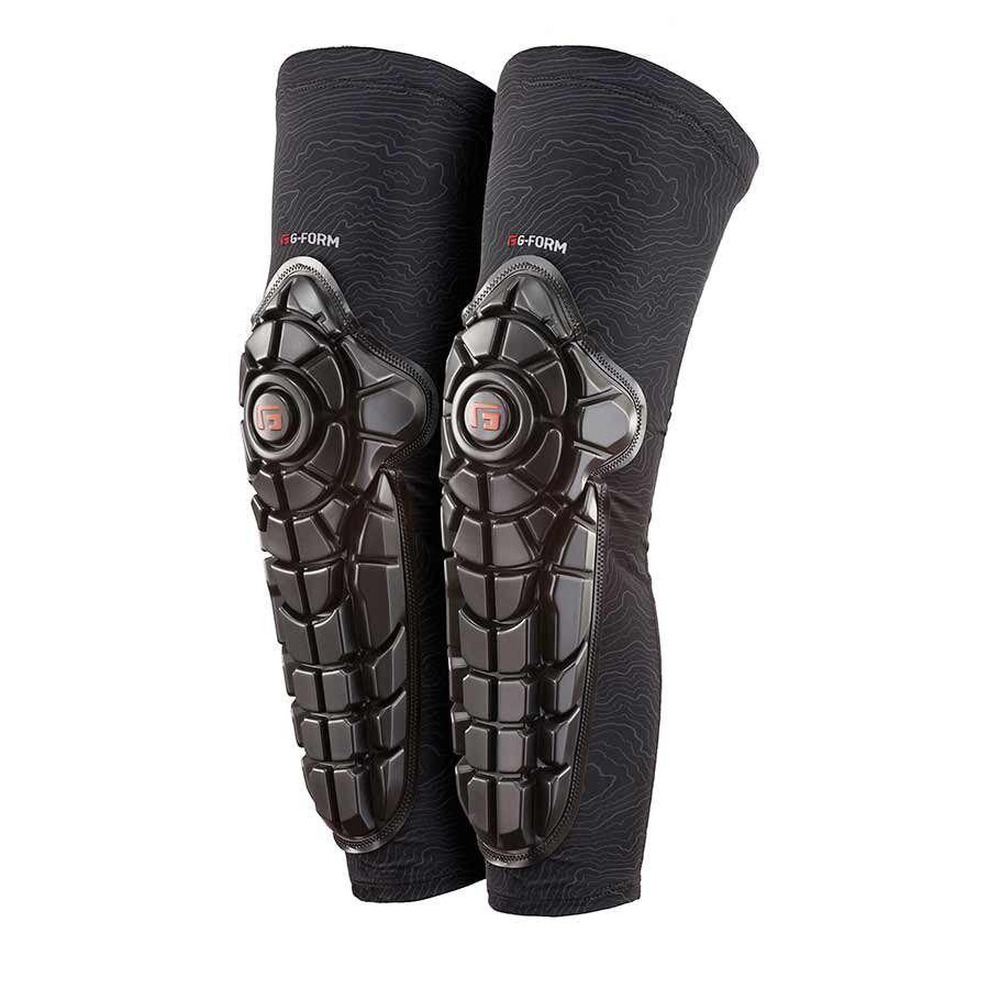 G-Elite hasta la rodilla Shin guardias Form Negro Xsmall Bicicleta