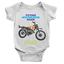 Future Motorcross Rider Babygrow Motorbike Cool Baby Boy Present Gift Body Suit