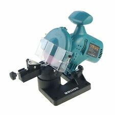 100097 Electric Chainsaw Bench Mounted Sharpener Grinder 100mm 220W