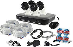 Swann DVR 4980 4 Channel 1TB 4 x PRO-5MPMSB 5MP Heat-Sensing Cameras CCTV Kit