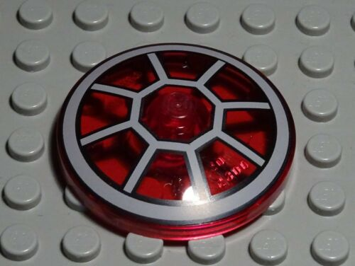 Lego Deckel Parabol 4x4 Rot Transparent Star Wars 1799 #