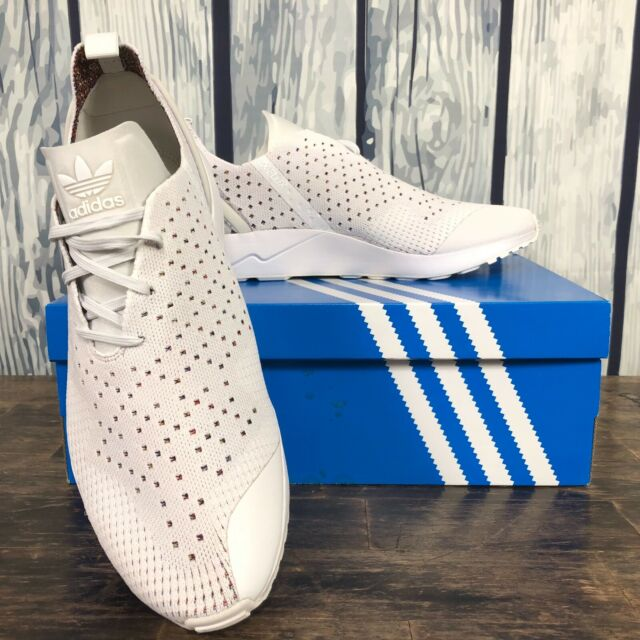 size 40 14441 88bc0 adidas ZX Flux ADV Asymmetrical Primeknit Men's 12.5 Running Shoes S79064