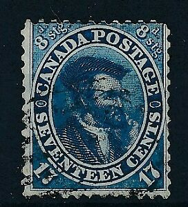 183-Canada-1859-64-good-stamp-very-fine-used