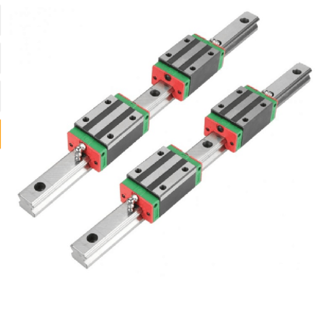 HGR20 400mm Linear Guide Rail Slide Carriage CNC Router with 2pcs Rail Block NEW
