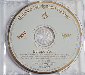 2018-HONDA-SAT-NAV-DISC-NAVIGATION-UPDATE-VER-3-C0-WEST-EUROPE-MAP-DVD