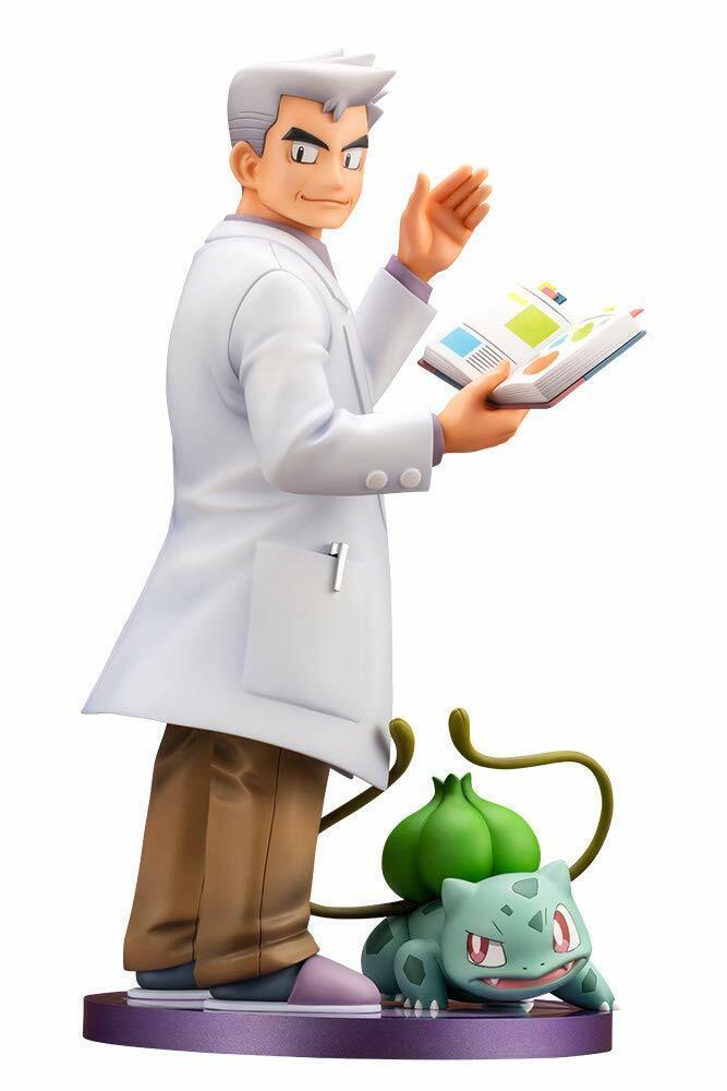 ARTFX  J Pokémon SERIE Professor Samuel in rovere con Bulbasaur 1 8 SCALA JAPAN VER.  molte sorprese
