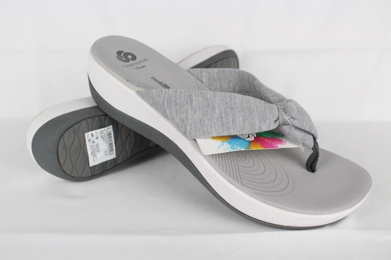 New Clarks Women's Arla Glison Slide Sandals Size 10m Grey 26126195