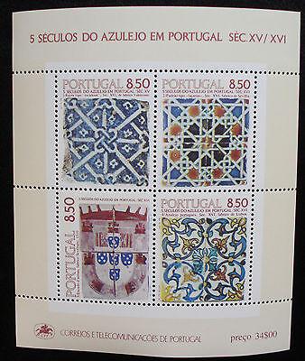 Top Portugal 1981:block 33 Neueste Mode Xx /mnh 500 Jahre Azulejos In Portugal