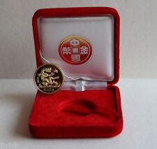 1988 China Beautiful  Lunar Series 8g 150Y Gold Dragon