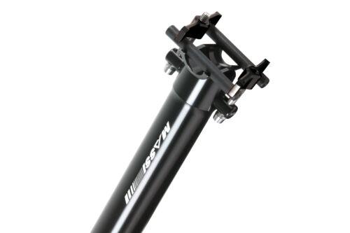 MASSI Tija de sillin CNC 31,6x410mm TI 165g