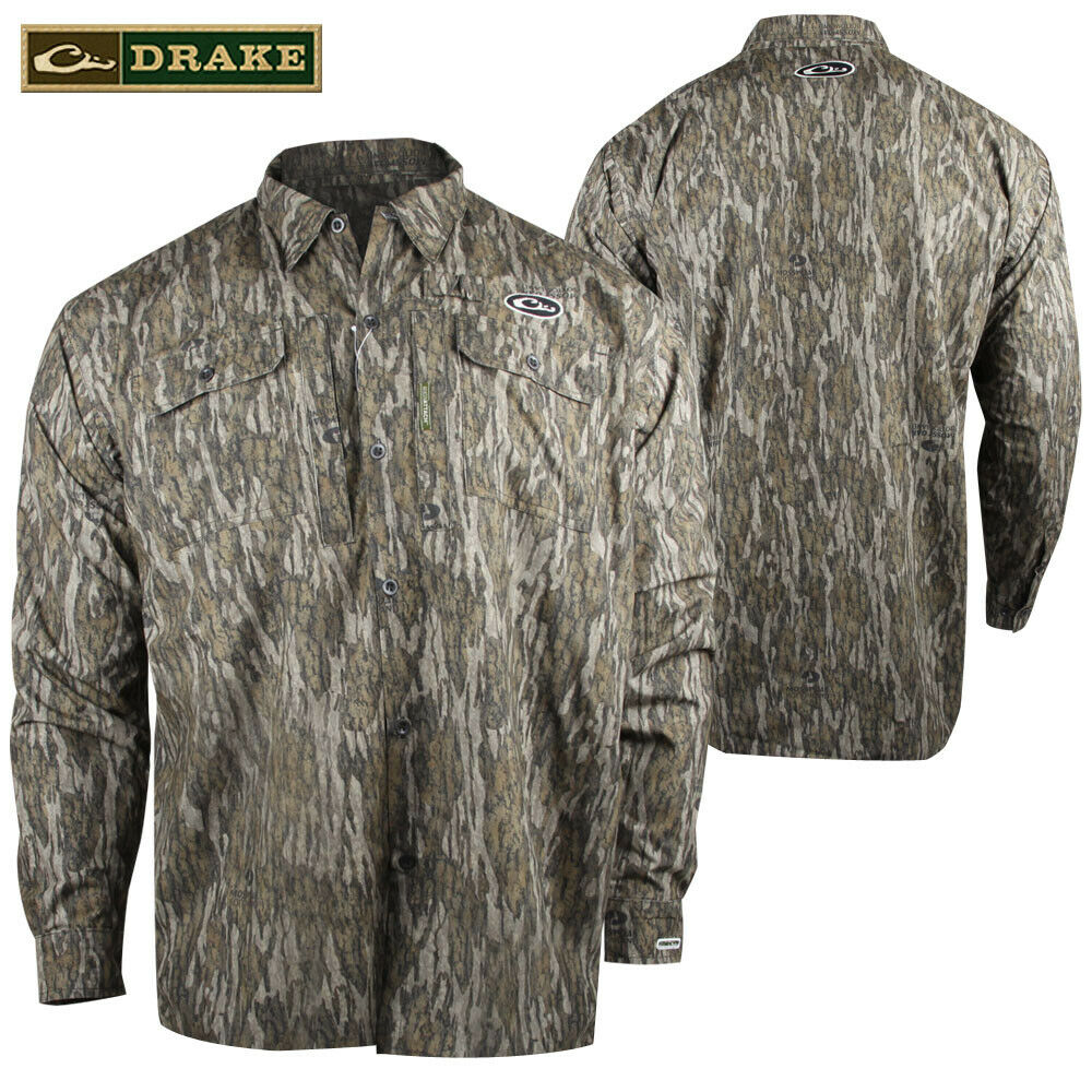 Drake est refugio Calor Escape WP Botón De Camisa (M) - mobl