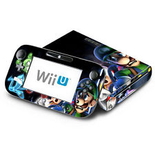 Skin Decal Cover for Nintendo Wii U & GamePad - Super Mario Luigi's Mansion