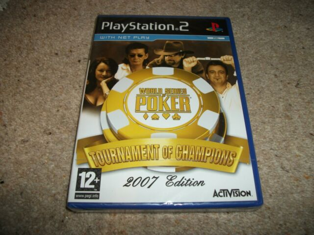 World Series of Poker: Tournament of Champions (Sony PlayStation 2, 2007) NEW