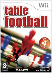 Wii-Table-Football-Excellent-Condition-with-book