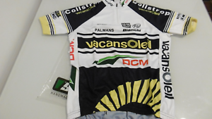 Vacansoleil SMS Santini Jersey Size  S Hand Made In  NOS  hastened to see