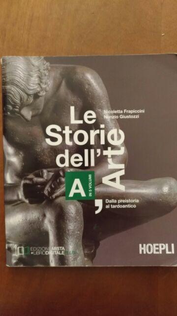 """""""LE STORIE DELL'ARTE - volume A"""" di Frapiccini e Giustozzi"""