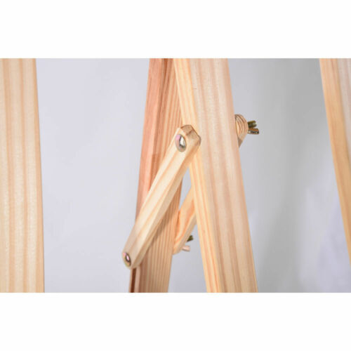 150cm STUDIO EASEL ARTIST ART CRAFT DISPLAY EASELS PINE WOOD WOODEN DRAWING 5FT