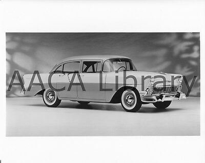 Factory Photo w// AA Plane 1956 Chevrolet Two Ten Sport Coupe Ref. # 31504