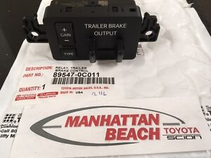 Details About 2016 2017 Tundra Instrument Panel Trailer Brake Controller Genuine Toyota