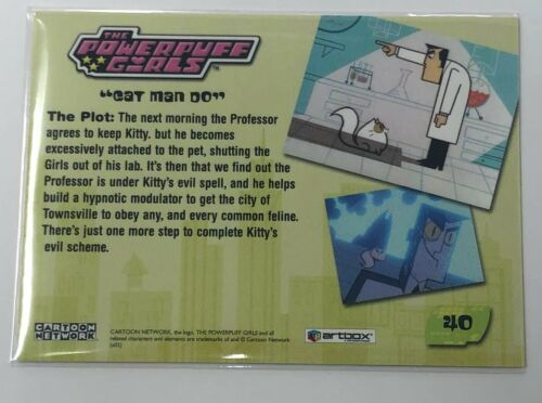 Details about  /Powerpuff Girls Artbox Trading Card #40
