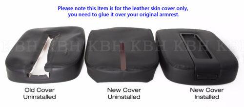 Fits 07-13 Chevy Tahoe Suburban Silverado Yukon Console Armrest Lid Cover Black