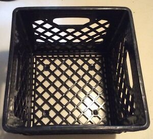 Merveilleux Image Is Loading Milk Crate Heavy Duty Plastic Storage Container Stackable