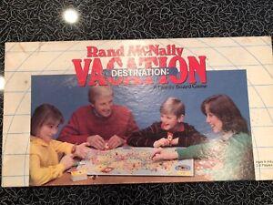 Rand McNally Vacation Destination Family Board Game United States ...