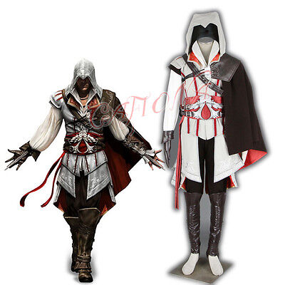Cafiona Cool Man Set Super Hero Ezio Auditore Cosplay Costume Fighting Outfits Ebay