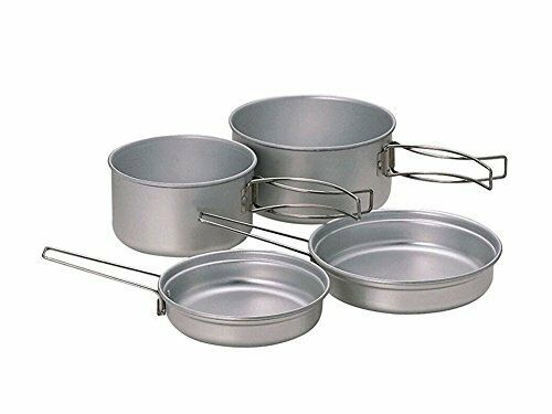 Snow Peak SCS-020T Multi Compact Cookset Titanium Free Shipping Japan
