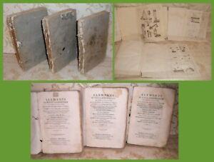 SCIENZE-LA-FISICA-SPERIMENTALE-del-Poli-3-VOLUMI-FIGURATI-VENEZIA-1794