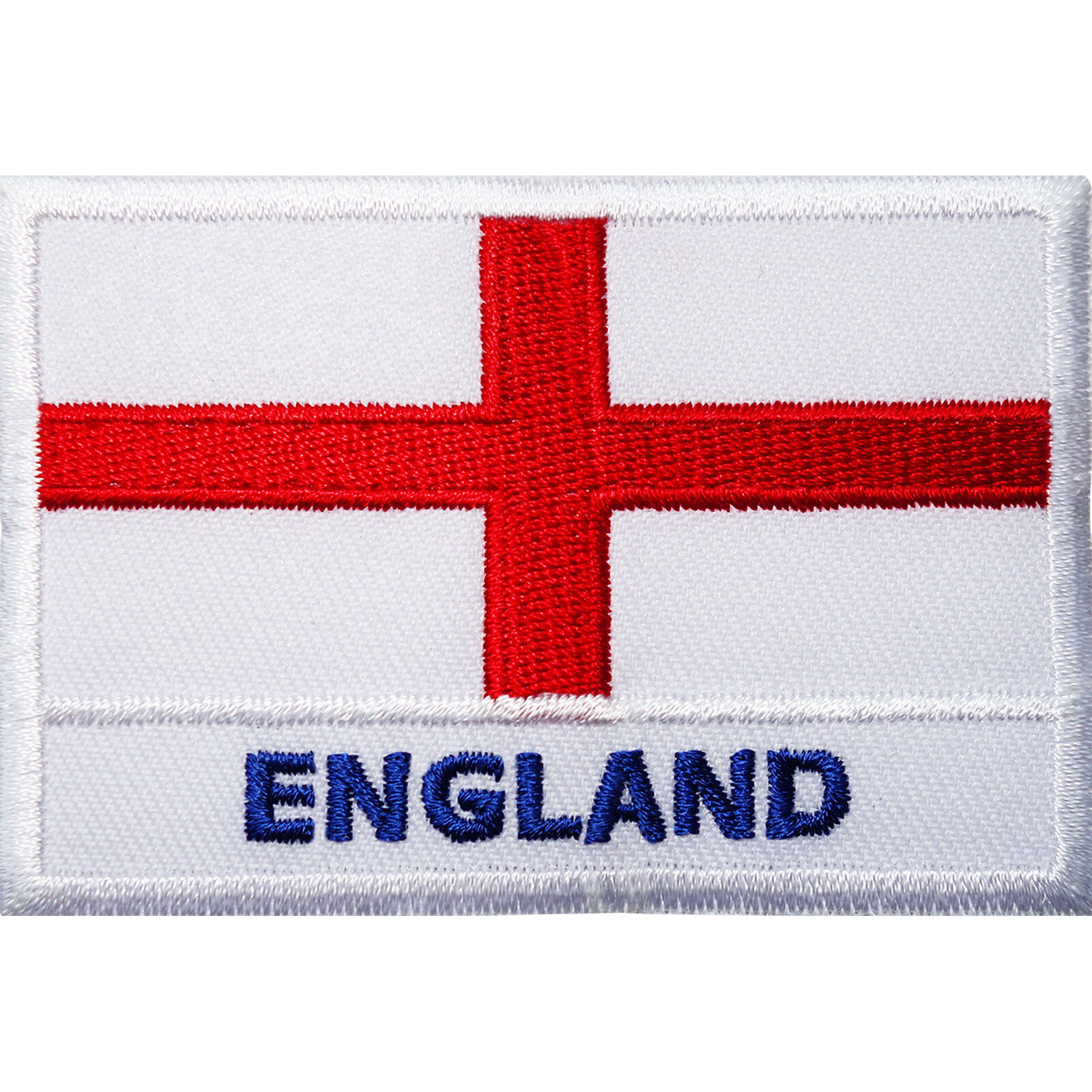 ENGLAND RUGBY UNION RED ROSE FLAG  BADGE IRON SEW ON PATCH CREST