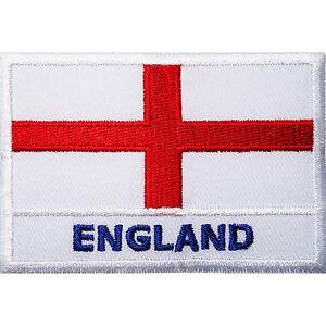 England-Flag-Embroidered-Iron-Sew-On-Patch-United-Kingdom-UK-English-Shirt-Badge