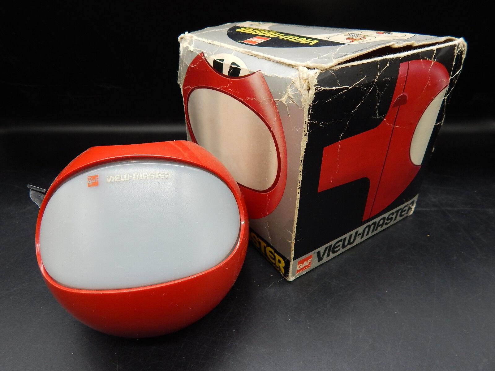 Vintage gaf view - master - modell k raum viewer belgien viewmaster w   original - box