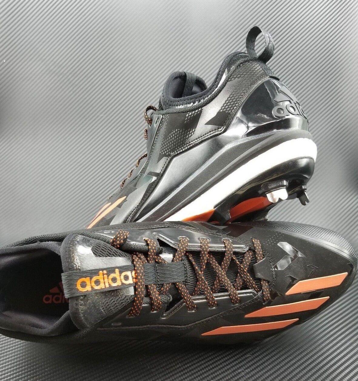 Neue adidas impulse symbol 2 größe 14 männer aus - baseball - stollen schwarz - aus orange q16524 e51038