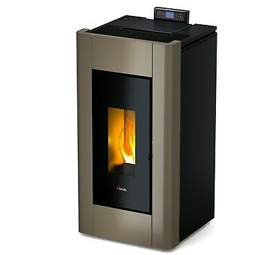 Gematigd Stufa A Pellet Cadel Prince3 10,5kw Fancy Colors