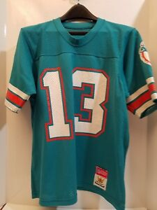 new styles 372f4 6e193 Details about Vintage 80s NFL Sand Knit MACGREGOR Dan Marino 13 MIAMI  DOLPHINS Jersey Youth L