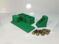 Rangetray Pistol & Magazine Stand For Taurus Pt111 9mm W/ Free Speedloader Green