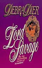 Lord Savage by Debra Dier (1996, Paperback)