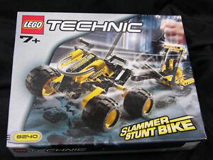 Lego Technic Slammer Stunt Bike 8240 Toys & Games Building Toys ...